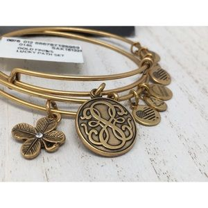 ALEX AND ANI Lucky Path Bangles  💫+2 Free Gifts